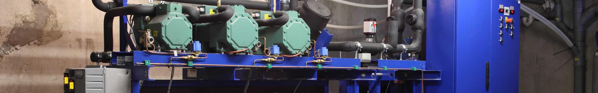 CO2 energi optimeret kompressor anlæg